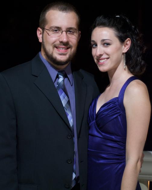 Amanda and I at the SAI Ball