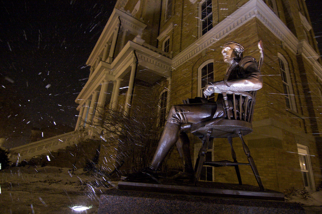 Jefferson - Braving the Winter Storm