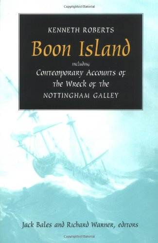 Book cover for Boon Island: Including Contemporary Accounts of the Wreck of the Nottingham Galley