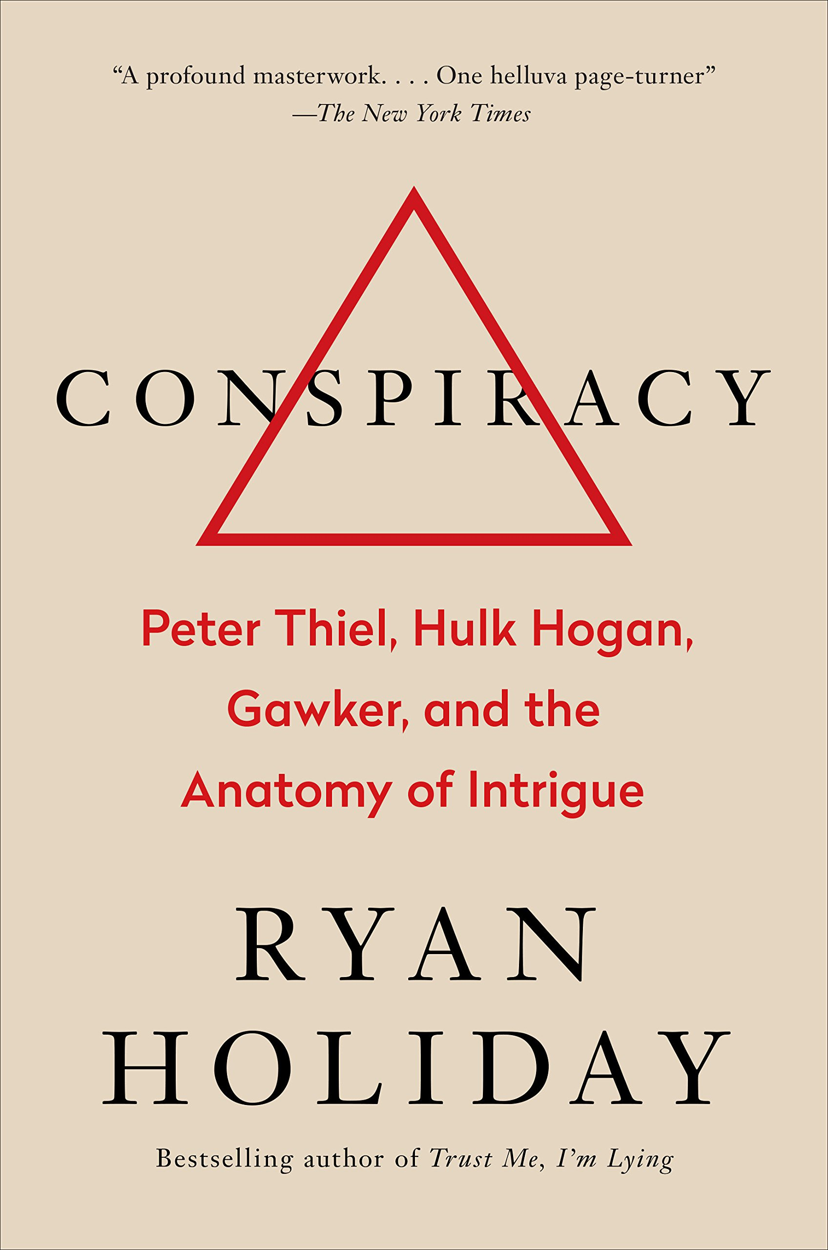 Book cover for Conspiracy