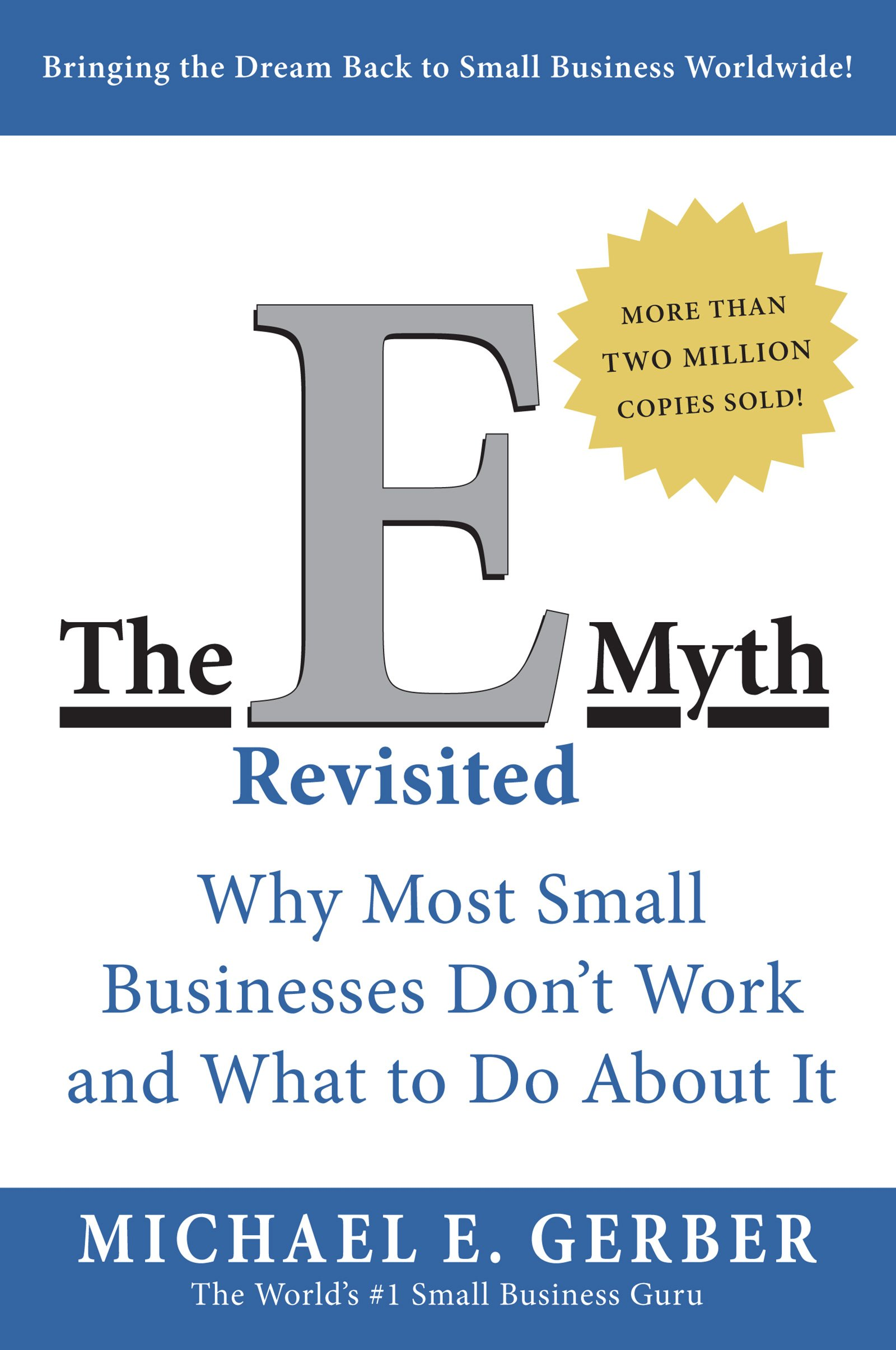 Book cover for The E-Myth Revisited