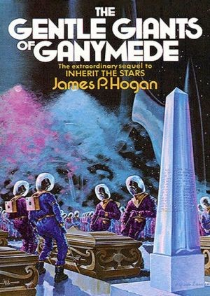 Book cover for The Gentle Giants of Ganymede