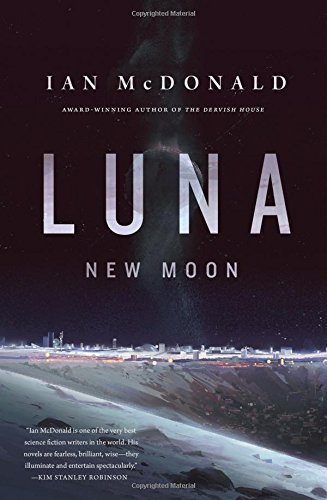 Book cover for Luna: New Moon
