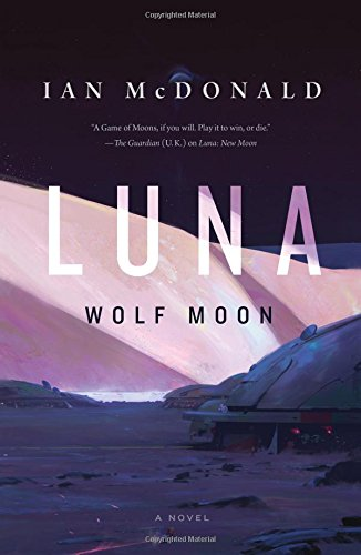 Book cover for Luna: Wolf Moon