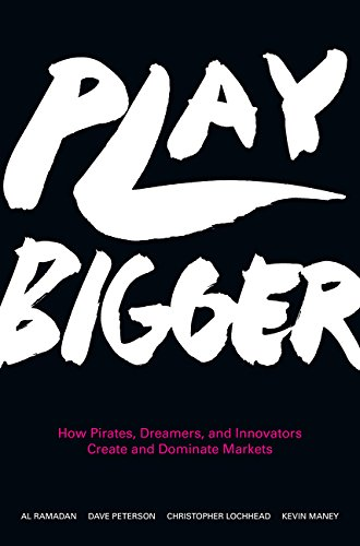 Book cover for Play Bigger: How Pirates, Dreamers, and Innovators Create and Dominate Markets