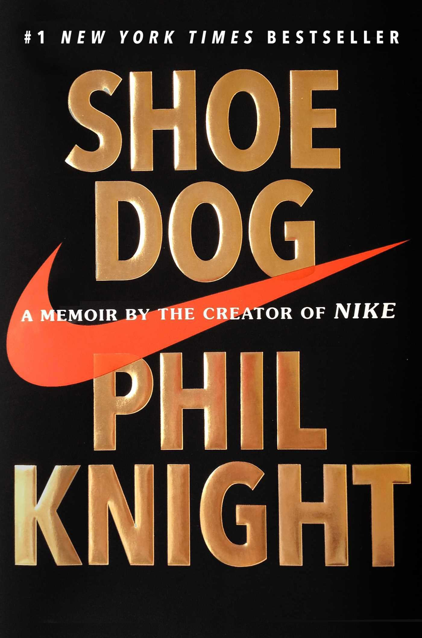 Book cover for Shoe Dog