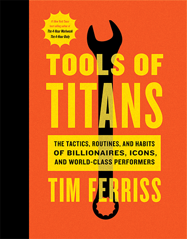 Book cover for Tools of Titans