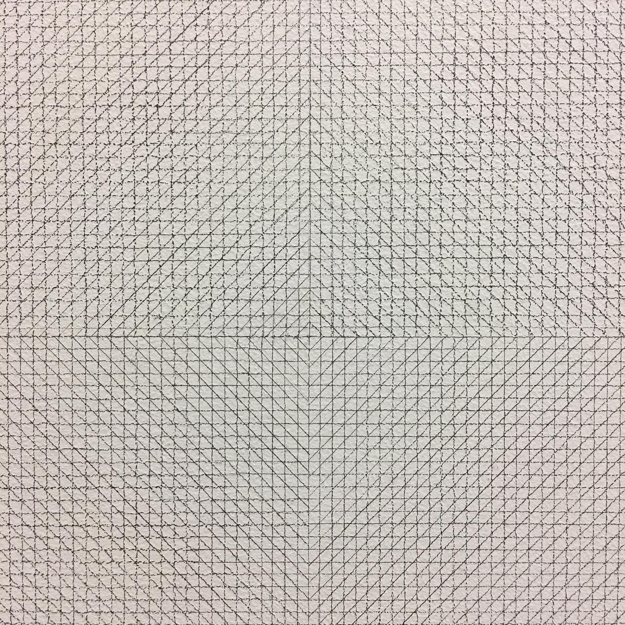 Detail shot of the version on display at MASSMoCA